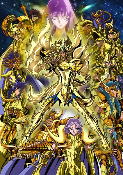 Anime Consortium Japan to Stream Simulcast of Saint Seiya – soul of gold – in 220 Countries and regions