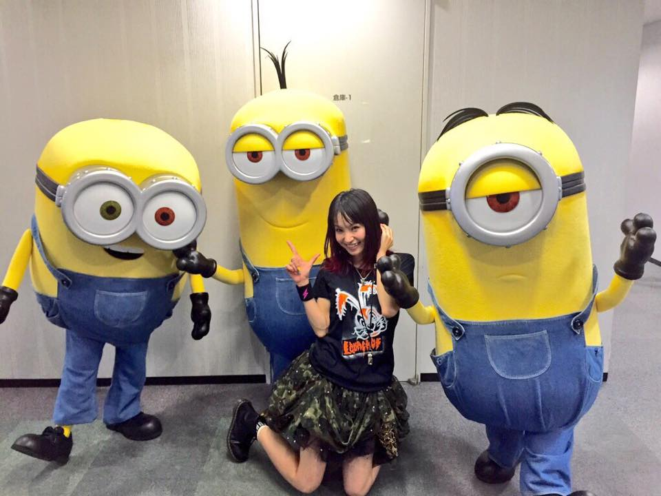Rock'n'Roll LiSA dubbing for upcoming Minions movie!
