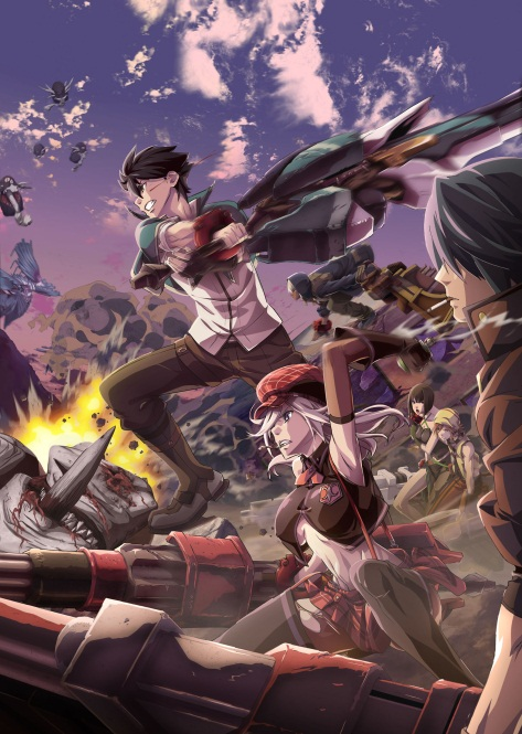 Anime Consortium Japan to Stream Simulcast of GOD EATER on DAISUKI.net world-wide starting from July 5