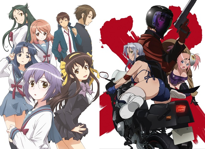 DAISUKI.net Adds The Disappearance of Nagato Yuki chan and TRIAGE X to Spring Line-up for Free Streaming