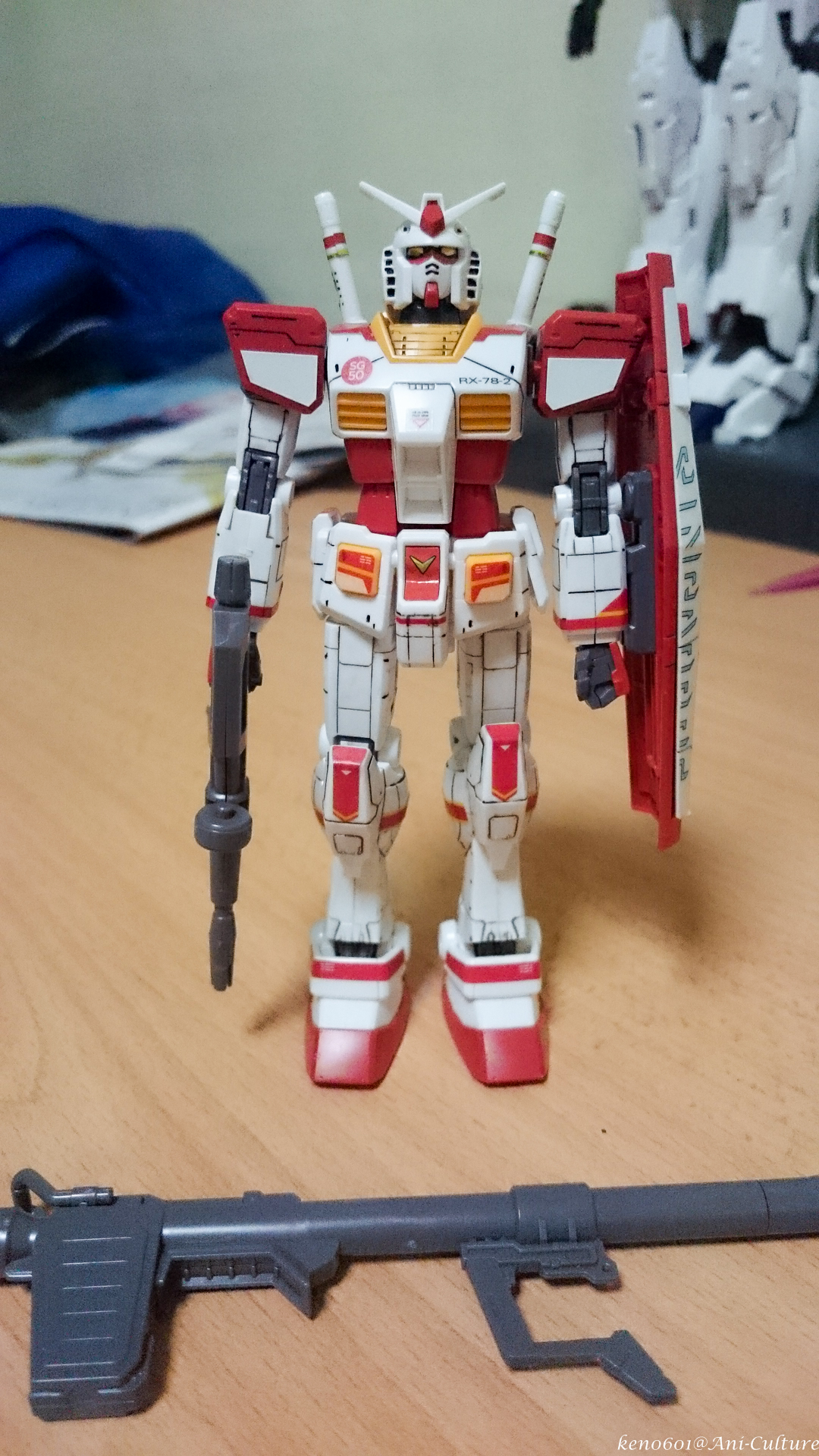 Gundam Docks at Singapore exclusive SG50 HG RX-78-2.