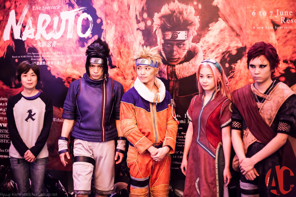 Live Spectacle NARUTO Hits Shores of Singapore!
