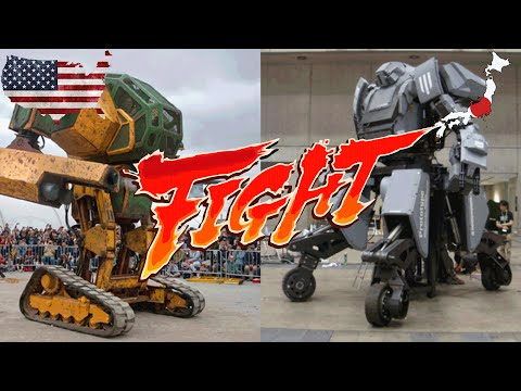 A Mecha Battle for the Ages!