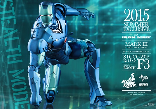 Hot Toys announces world premiere of Iron Man Mark III and pre-order of exclusive collectibles at STGCC 2015