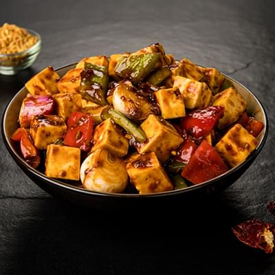 Hot & Sweet Garlic Paneer Dry image