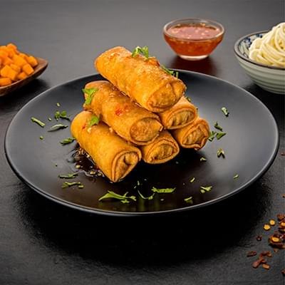 Veg Spring Roll - 6 Pieces image