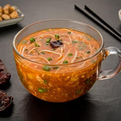 Chicken Schezwan Noodle Soup image