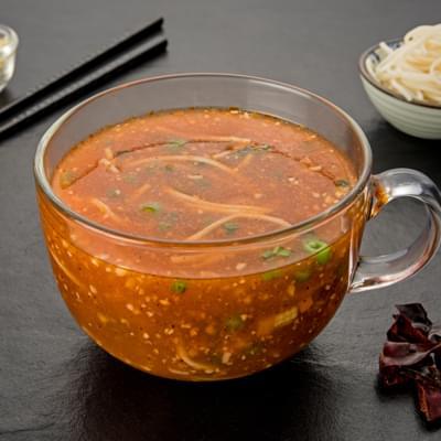Veg Schezwan Noodle Soup image