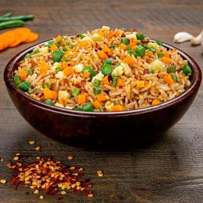 Veg Chilli Garlic Fried Rice image