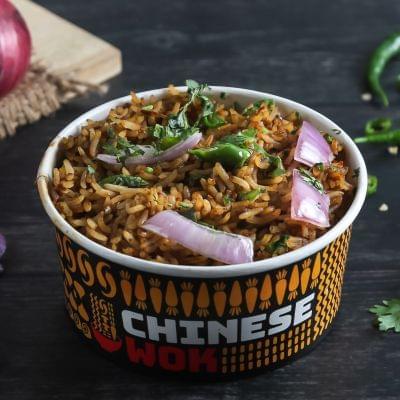 Veg Desi Chilli With Rice image