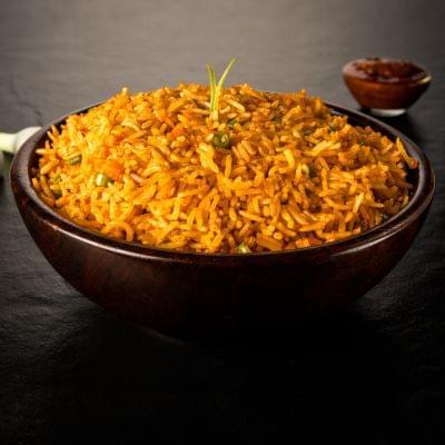 Veg Chinese Schezwan Fried Rice image