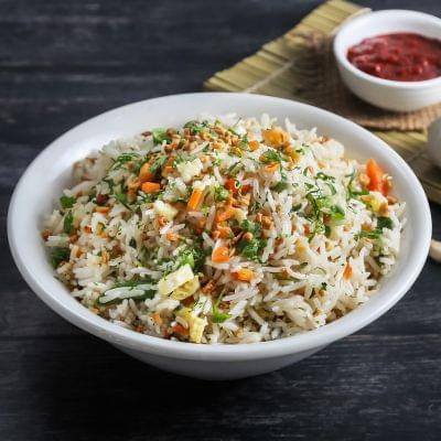 Burnt Garlic Fried Rice image