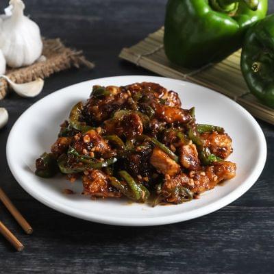 Hot & Sweet Garlic Chicken Dry image