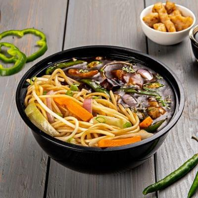 Chilli Chicken With Hakka Noodles Bowl image