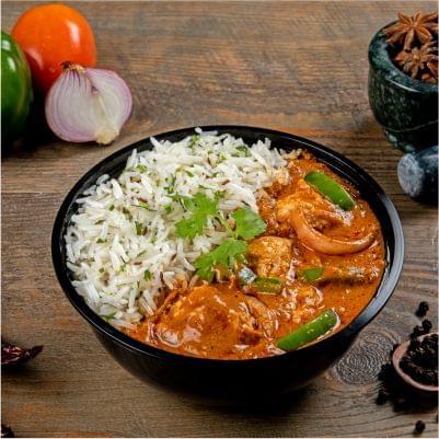 Chicken Kadai Rice Bowl image