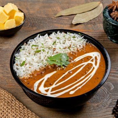 Dal Makhani Rice Bowl image