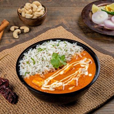 Paneer Butter Masala Rice Bowl image