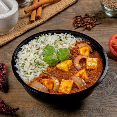 Paneer Lababdar Rice Bowl image