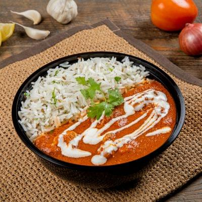 Smoky Butter Chicken Rice Bowl image