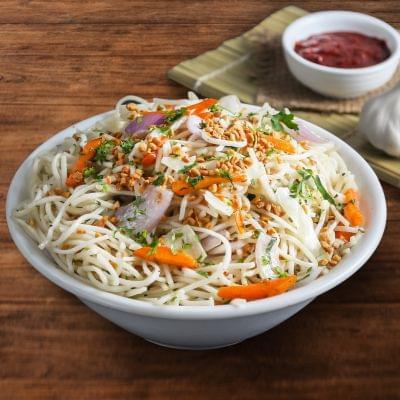 Veg Burnt Garlic Noodles Bowl image