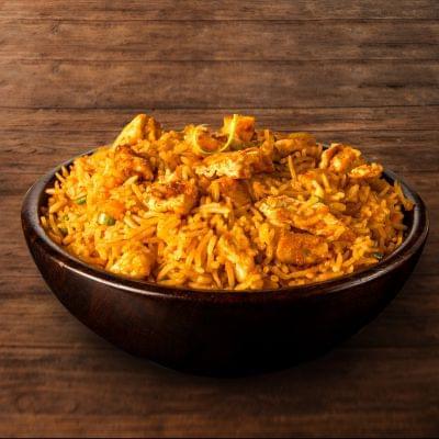 Chicken Schezwan Fried Rice Bowl image