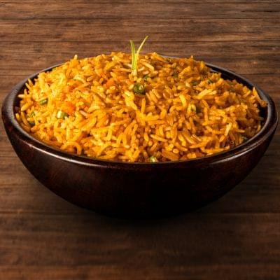 Veg Schezwan Fried Rice Bowl image