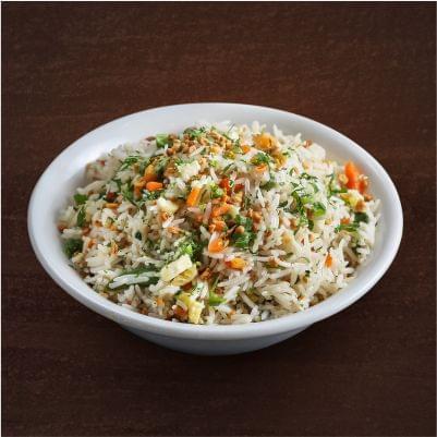 Veg Burnt Garlic Fried Rice image