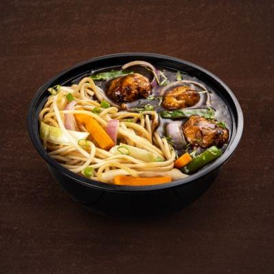 Chicken Manchurian With Hakka Noodles Bowl image
