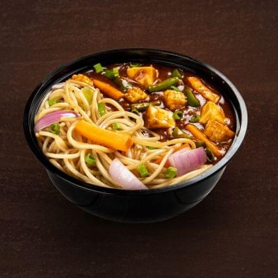 Chilli Paneer With Burnt Garlic Noodles Bowl image