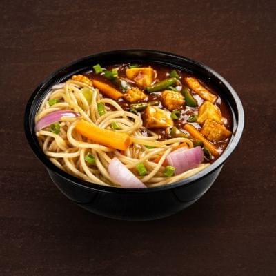 Kung Pao Paneer With Burnt Garlic Noodles Bowl image