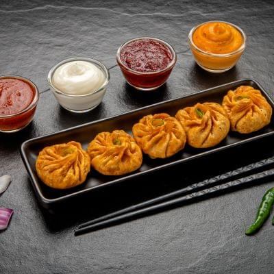 Veg Fried Paneer Tikka Momos image
