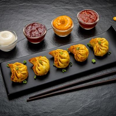 Fried Chicken Corn & Cheese Momos image
