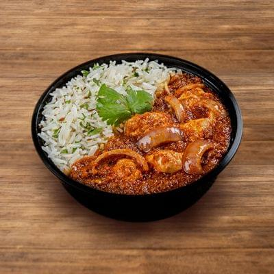 Chicken Lababdar Rice Bowl image