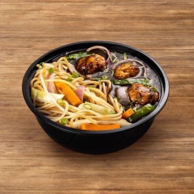 Chicken Manchurian With Hakka Noodles image