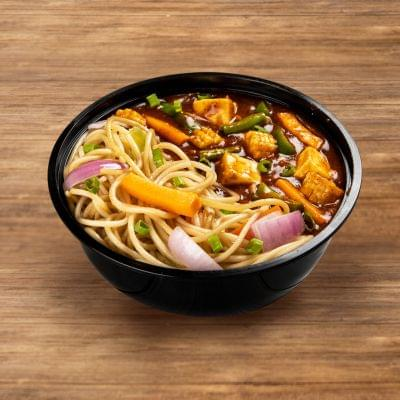 Chilli Paneer With Burnt Garlic Noodles image
