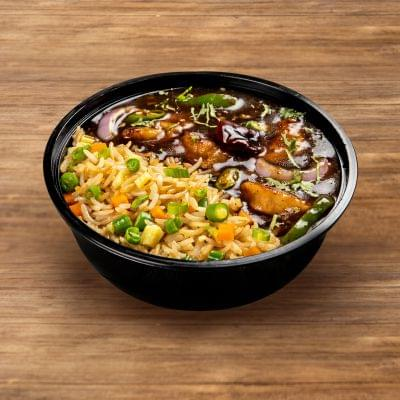 Kung Pao Chicken With Egg Fried Rice image