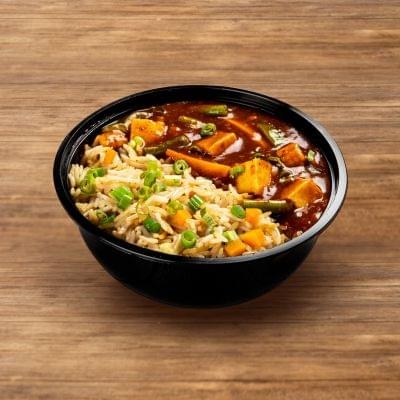 Kung Pao Paneer With Burnt Garlic Rice image