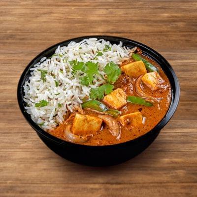 Paneer Kadai Rice Bowl image