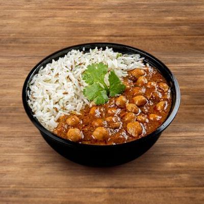 Pindi Chole Rice Bowl image