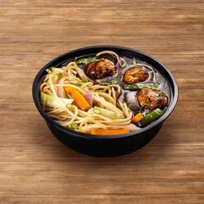Veg Manchurian With Hakka Noodles image