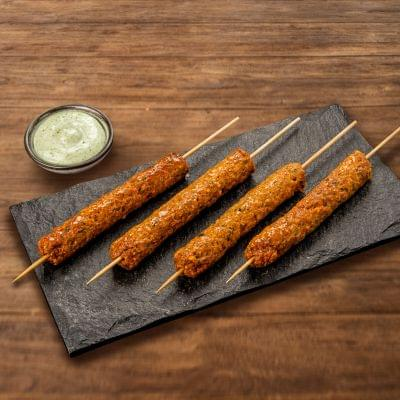 Chicken Nawabi Seekh Kebab image
