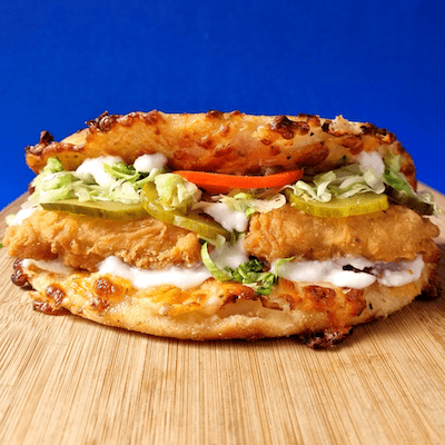 Classic Fried Chicken Moon Burger image