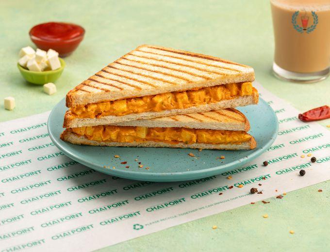 Grilled Paneer Tikka Sandwich image