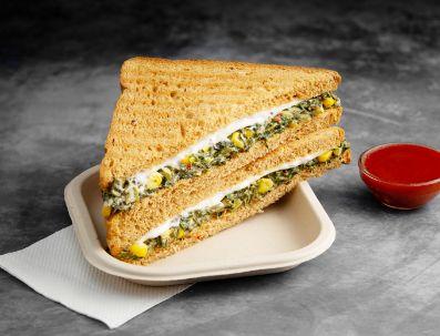 Spinach & Corn Sandwich image