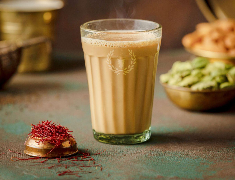 Kesar Elaichi Chai Mini Flask ( Serves 4-5) image