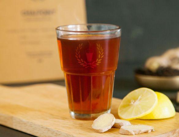 Ginger Lemon Mini Flask ( Serves 4-5) image