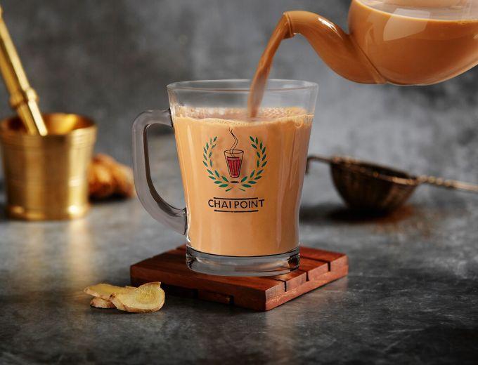 Ginger Chai Mini Flask ( Serves 4-5) image
