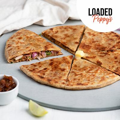 Loaded Pyaaz Peppy Paratha image