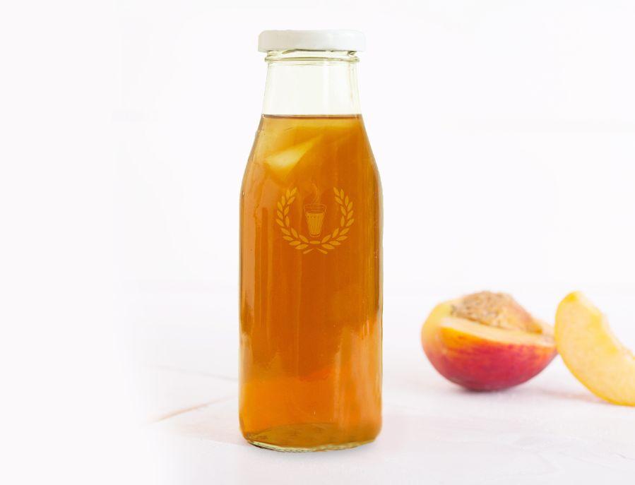 Peach Ice Chai image