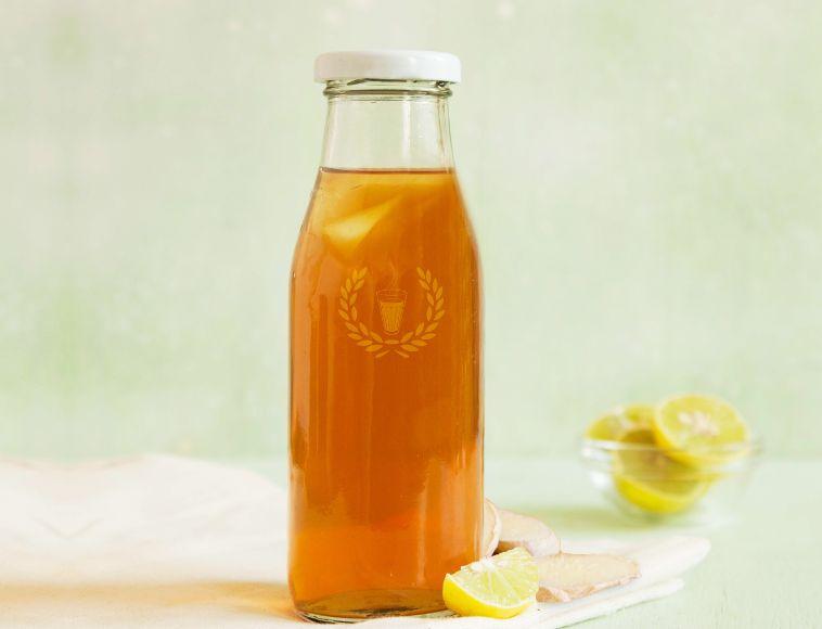 Ginger Lemon Ice Chai - 300ml image